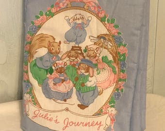 Julie's Journey Cloth Book