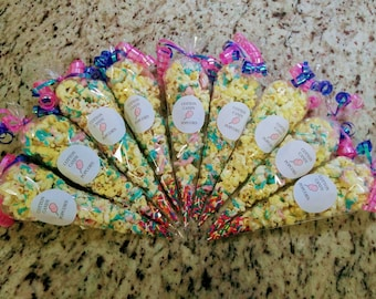 Flavored Popcorn Goodie Bags New Flavors! Chocolate Covered Strawberries and More