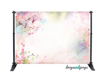 Watercolor Spring - Photography Backdrop