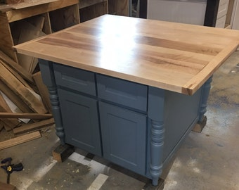 Kitchen Island With Maple Top Islands Seating Bar Stools Custom