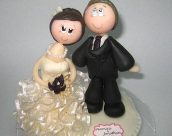 Wedding cake topper, custom wedding cake topper