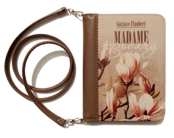 "Book clutch ""Madame Bovary"""