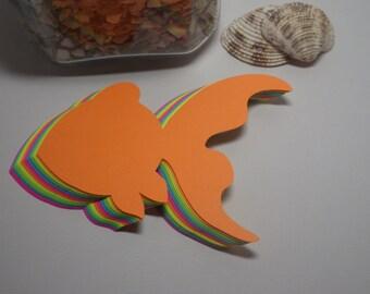 Large Goldfish Die Cuts, Fish Die Cuts - Custom Orders Welcome! VTC-0073