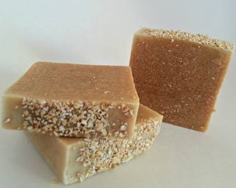 Oatmeal Soap-Honey Soap-Goat Milk Soap-Natural Soap-Nut Free Soap-Organic Soap-Luxury Soap-Hand Made Soap-Palm Oil Free Soap