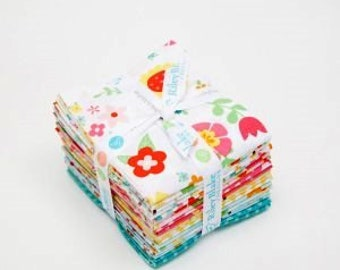 Riley Blake Bloom Where You're Planted Fat Quarters by Lori Whitlock 18 pc