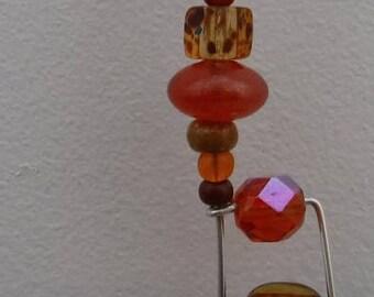 Tangerine Razzledazzle Pendant