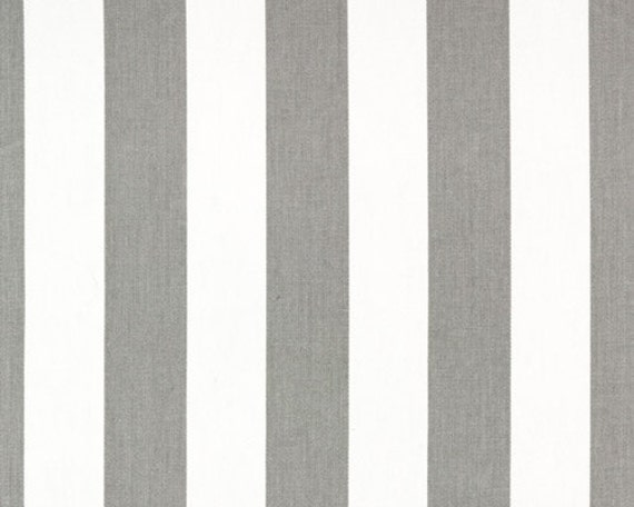 Grey And White Striped Curtain Fabric Curtain