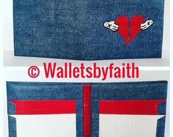 Broken Heart Wallet