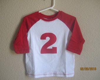 Boy baseball birthday outfit, baby boy baseball shirt, Red white baseball shirt, baby boy first birthday outfit, white red baseball shirt