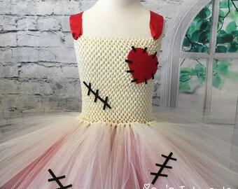Voodoo tutu, Voodoo tutu dress, Voodoo costume, Voodoo doll costume, Voodoo doll dress, Voo Doo doll tutu, mardi gras outfit