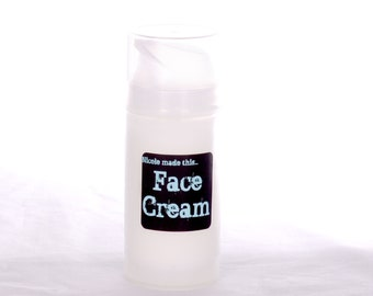 Naturally Derived Paraben Free Face Cream - Handblended Fresh to Order