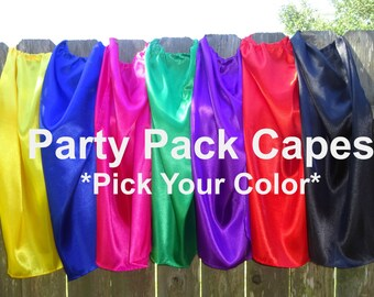 Children's Superhero Capes Kids Party Favors Bulk Wholesale Cheap