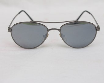 "Rare 90's Vintage ""CARLTON"" Aviator Sunglasses with Mirror Lenses"
