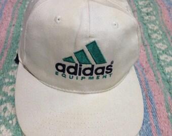 Vintage Adidas Equipment 90s hat cap