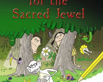 A Legend from a Tiny Green  Planet - The Quest for the Sacred Jewel