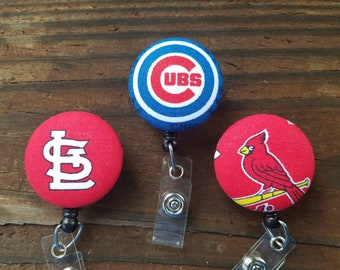 Cards or Cubs Badge Reels