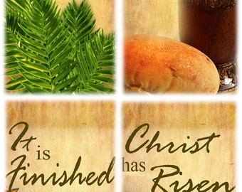 Easter Set A / Yard Banner (G1215-1group)