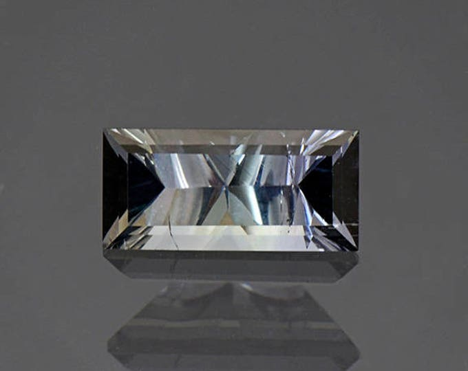 Fascinating Silvery Blue Green Tourmaline Gemstone from Brazil 2.05 cts.