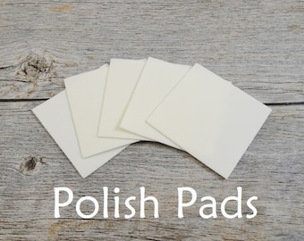 Polish Pads for Sterling Silver Hand Stamped Jewelry