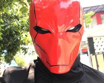 Red Hood Rebirth Helmet Accurate Details