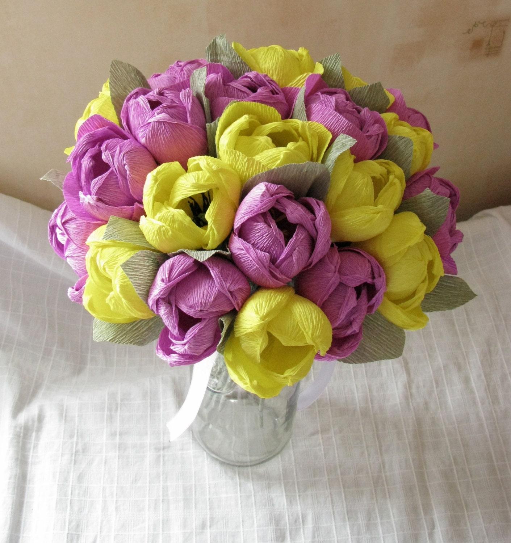 Crepe Paper Flower Bouquet Images - Flower Wallpaper HD