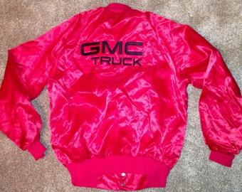 Vintage GMC button up jacket