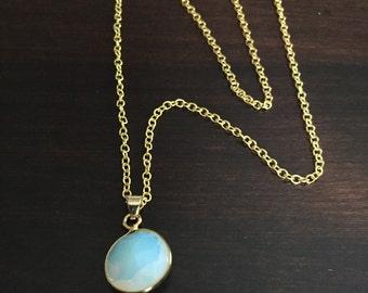 turquoise necklace, turquoise jewelry, turquoise pendant, crystal necklace, stone necklace, gem necklace, necklace, gold necklace, jewellery