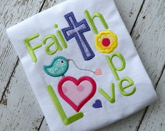 FAITH HOPE LOVE2 machine embroidery design