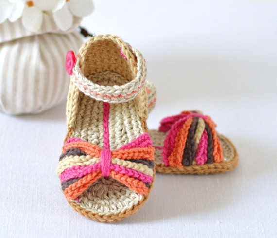 Crochet Pattern Baby Sandals Paris Style Baby Shoes Easy