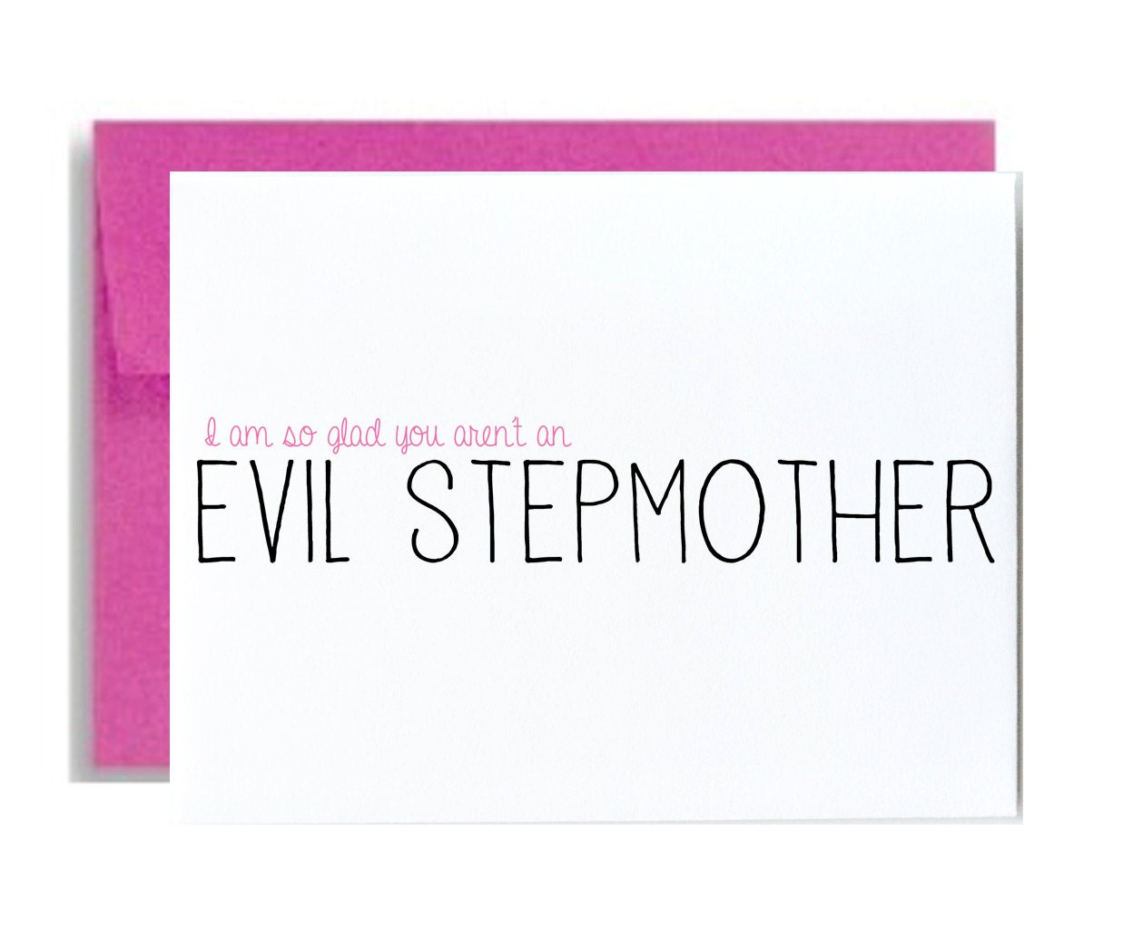 Funny step mom mothers day greeting card stepmother i am so zoom kristyandbryce Images