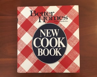 Vintage Better Homes and Gardens' New Cookbook