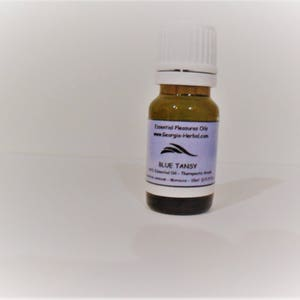 Blue Tansy Essential Oil       Natural Oil  - Standardized Oil