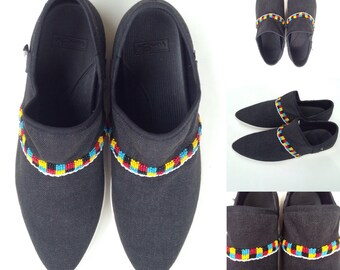 Beaded Sanuk Shoes