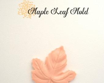 Silicone Mold Maple Leave