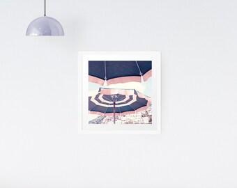 Beach Umbrella Photography print