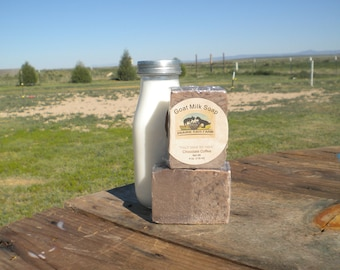 Chocolate Coffee Goat Milk Soap