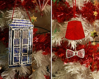 Doctor Who 8 Ornaments Set