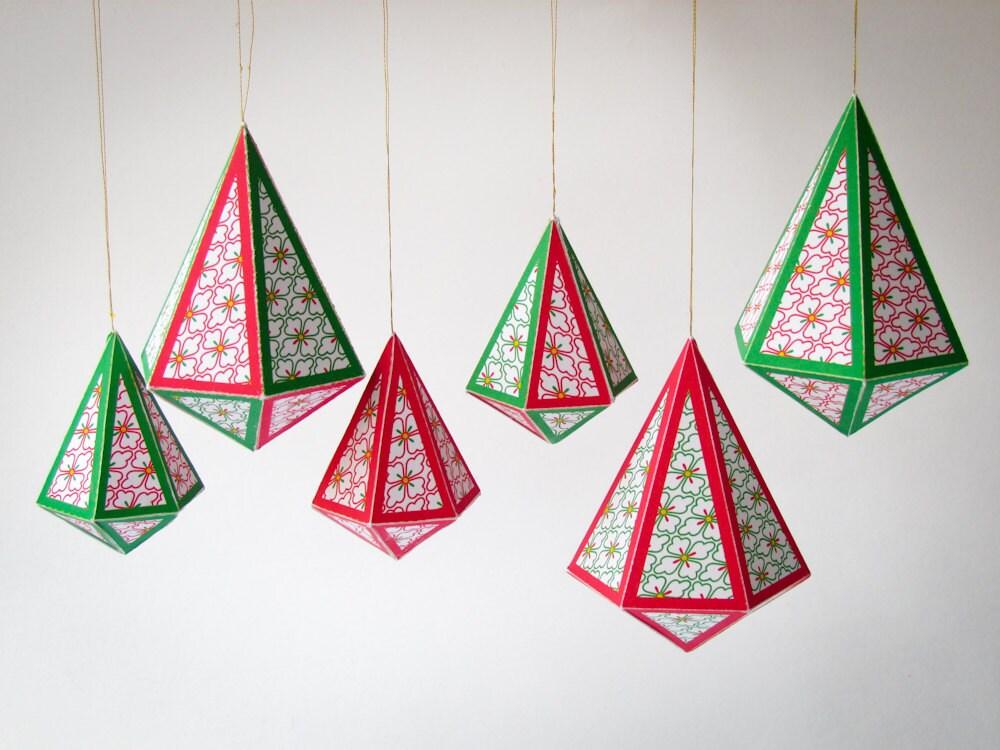 DIY Christmas Holiday Ornaments 8 Printable