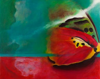 Butterfly art Butterfly original painting
