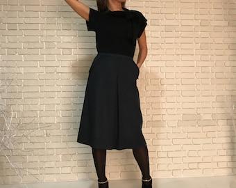 Wool women's skirt