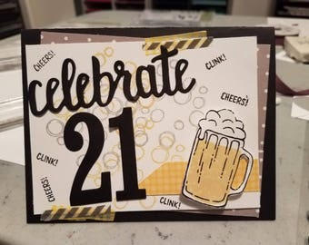 Cheers Bday Card