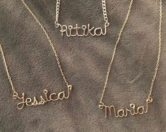 Personalized Name PLUS SIZE necklace