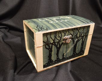 Hand Painted Keepsake Box