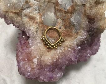 brass septum ring