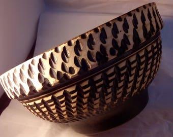 West German art pottery bowl