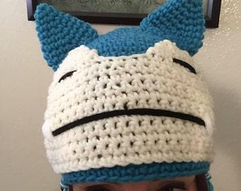 crochet snorlax hat kid sizes