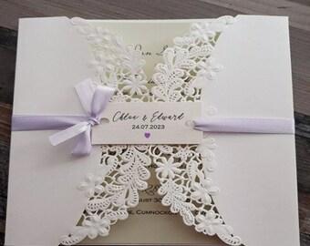 Wedding Invitation - Personalised Wedding Tags -  Tags for invitations