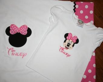 Disney Pillowcase & Matching T-shirt
