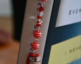 Little (Read) Owl Book Bling Bookmark