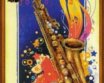 Jazz by Riolis Cross Stitch Kit